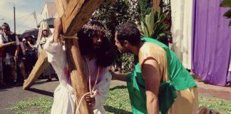Manuel, como Cristo. Via Crucis Parroquia Mexicaltzingo