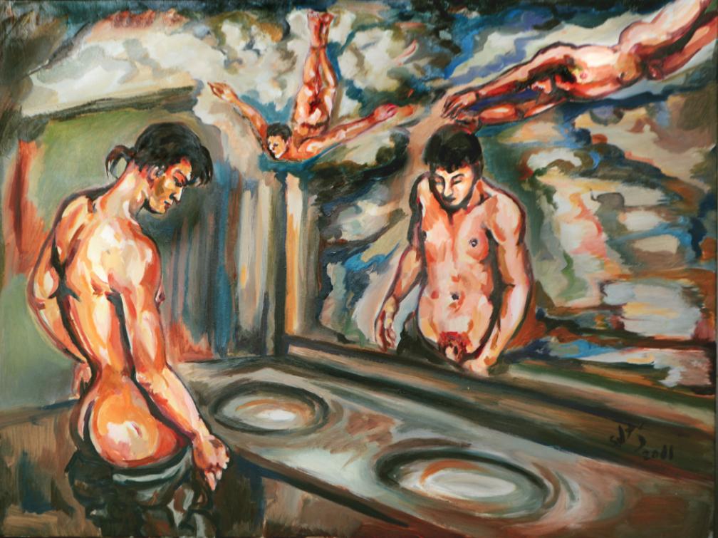 """""""Desnudándote los deseos"""", Sebastian Moreno"""