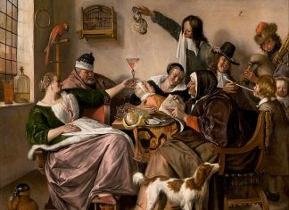 """""""The way you hear it, is the way you sing it"""", Jan Steen"""