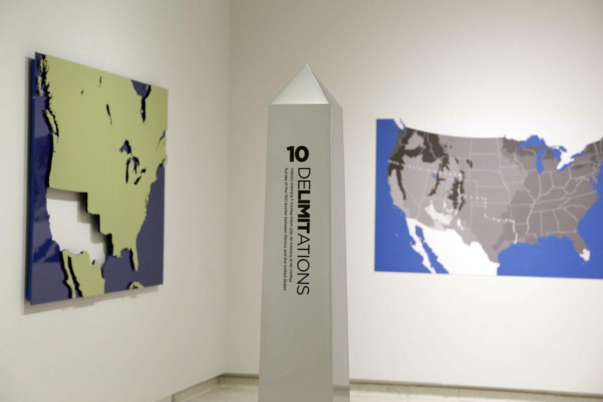 """Exposición """"Delimitations"""""""