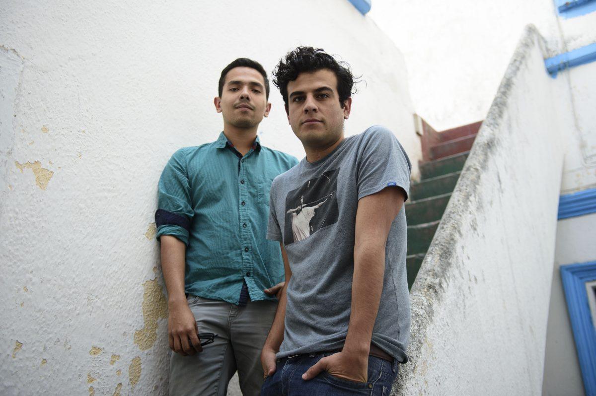 Omar Robles y José Permar