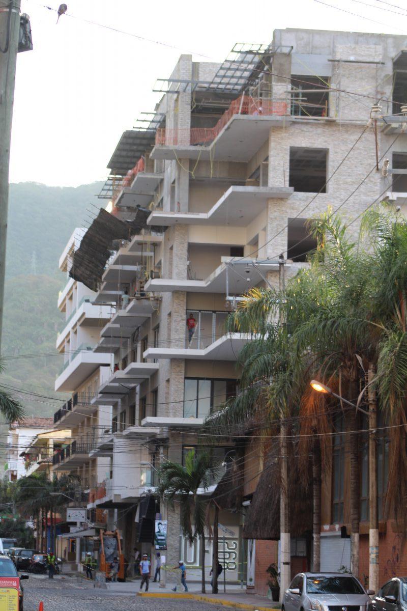 Edificios en la Zona Romántica de Puerto Vallarta