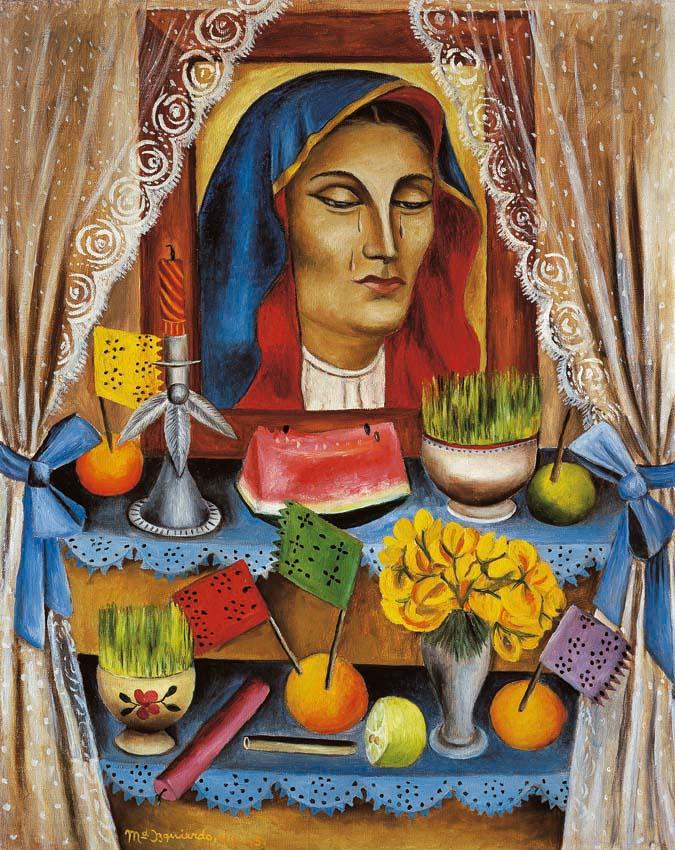 """""""Viernes de Dolores"""", María Izquierdo"""