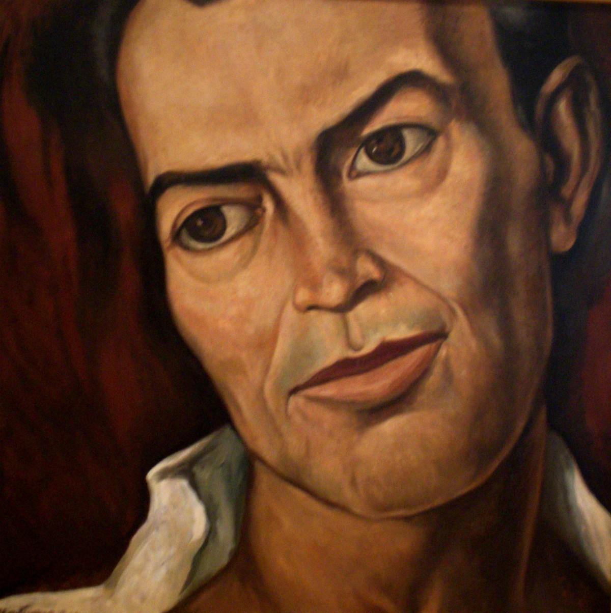 """Elías Nandino"", Roberto Montenegro (1950)"