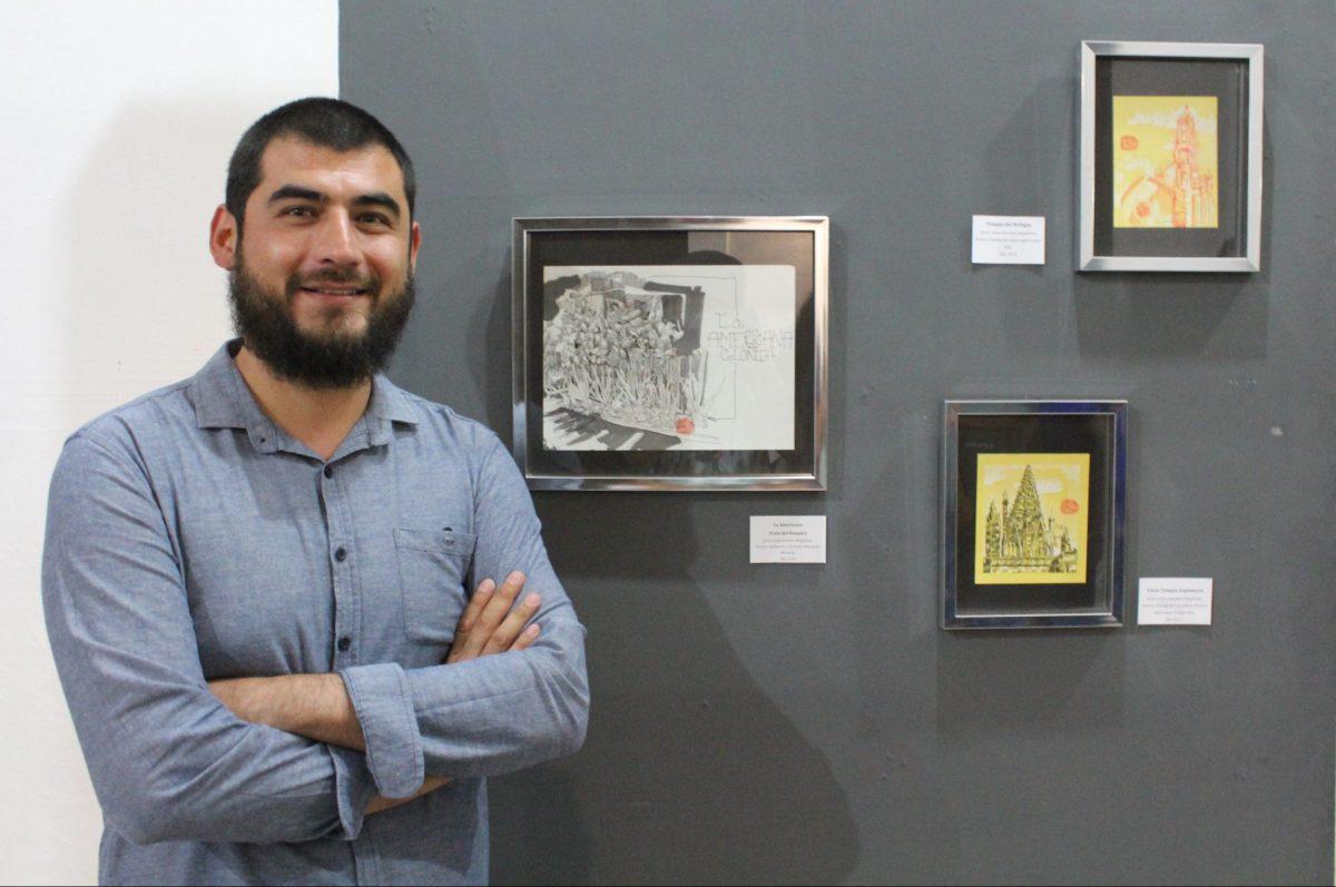 Jaime Johnston, cofundador de Urban Scketchers Guadalajara
