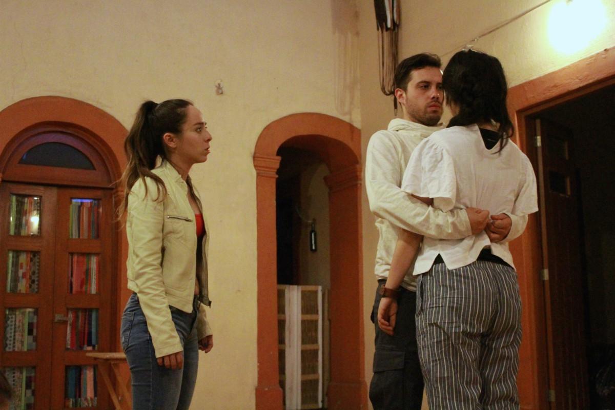 "Alba Sánchez Zepeda, Gerardo Hernández, Paloma Domínguez. Elenco ""Próxima estación: tú"""