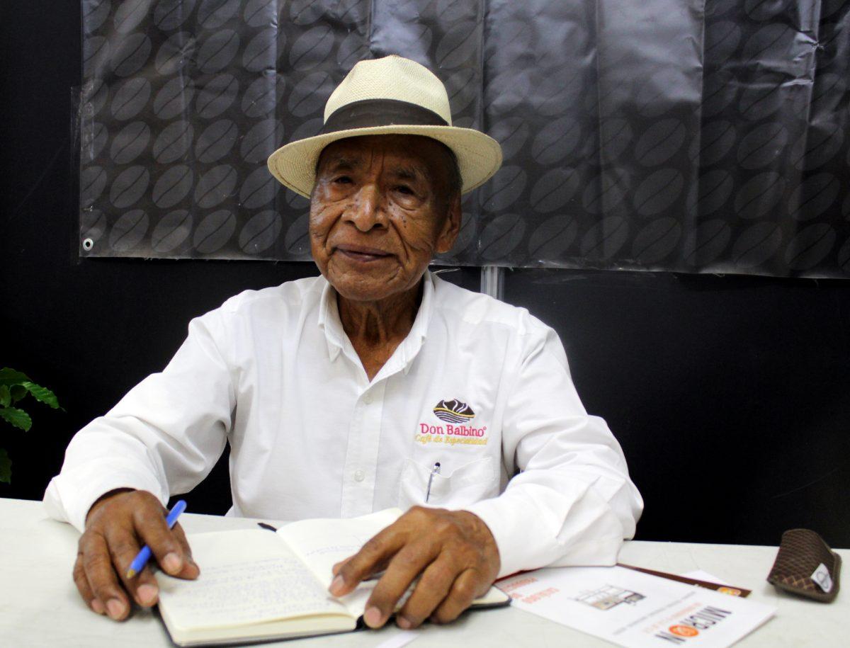 Don Balbino, cafetalero de Talpa de Allende