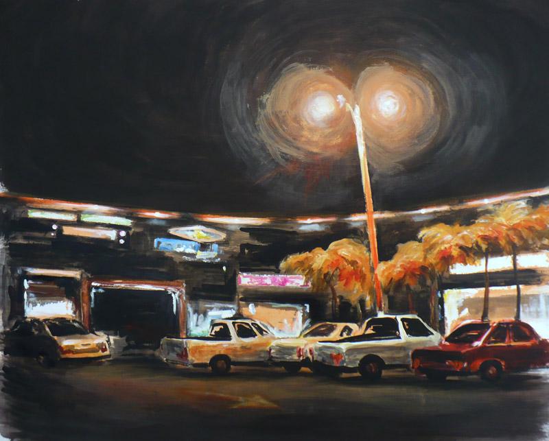 """""""Resplandor nocturno"""", Eréndira Díaz Esponda"""