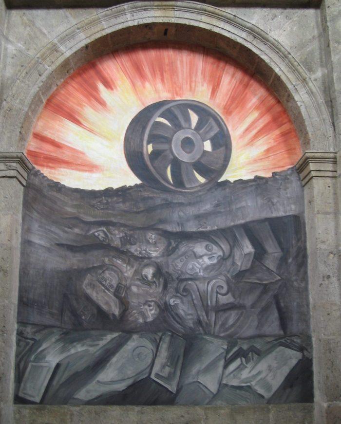 """""""Rueda"""", José Clemente Orozco (1939)"""