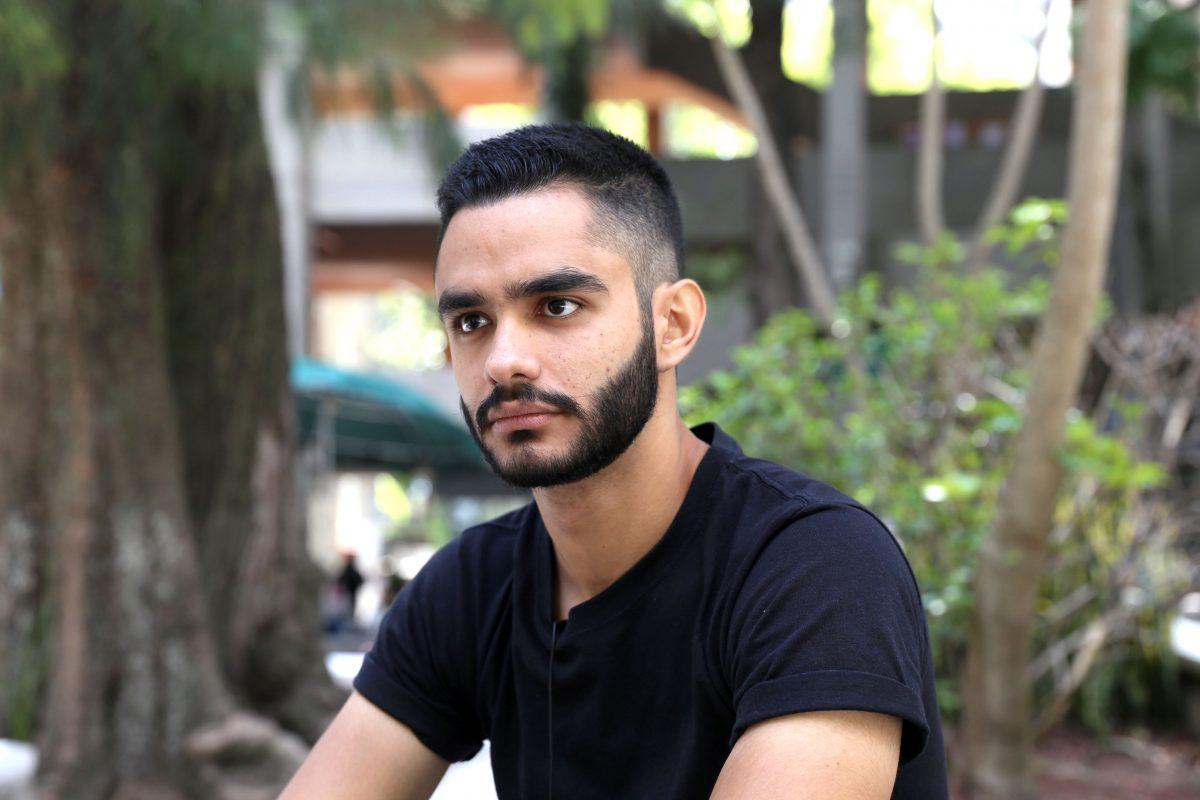 Diego Malo Araiza, estudiante de Arquitectura del CUAAD