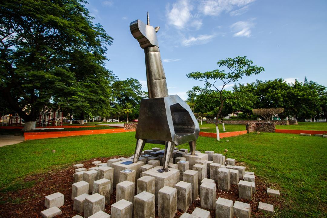 Esculturas donadas por CUCosta