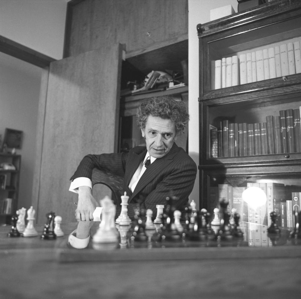 """""""Juan José Arreola"""", por Rogelio Cuéllar"""