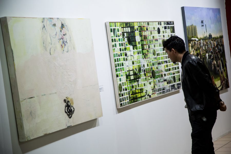 Obras Bienal de Pintura José Atanasio Monroy 2018