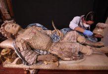 Intervención de las reliquias de San Hermión
