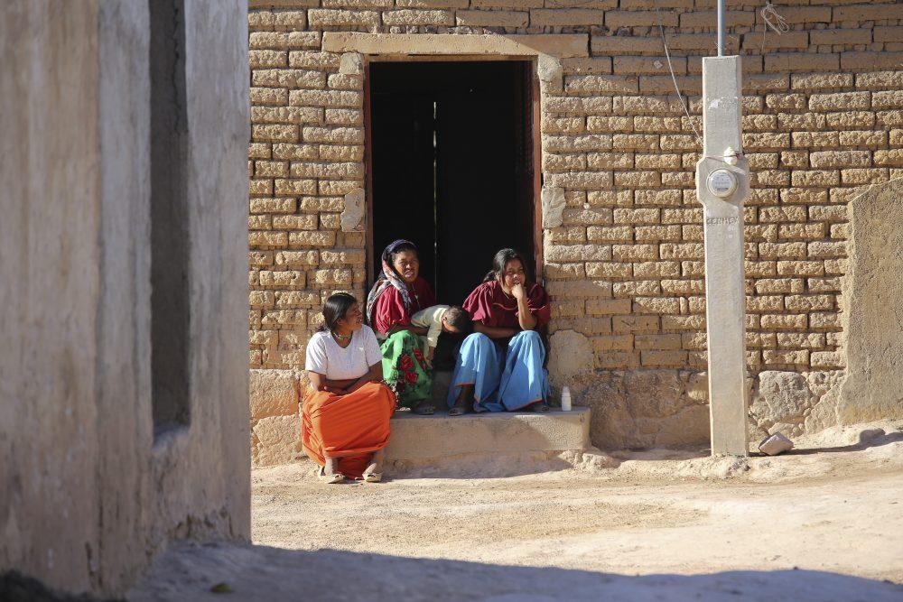 Habitantes wixárikas de Ocota de la Sierra, Mezquitic
