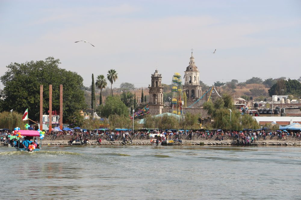 Reyes Magos en Laguna de Cajititlán