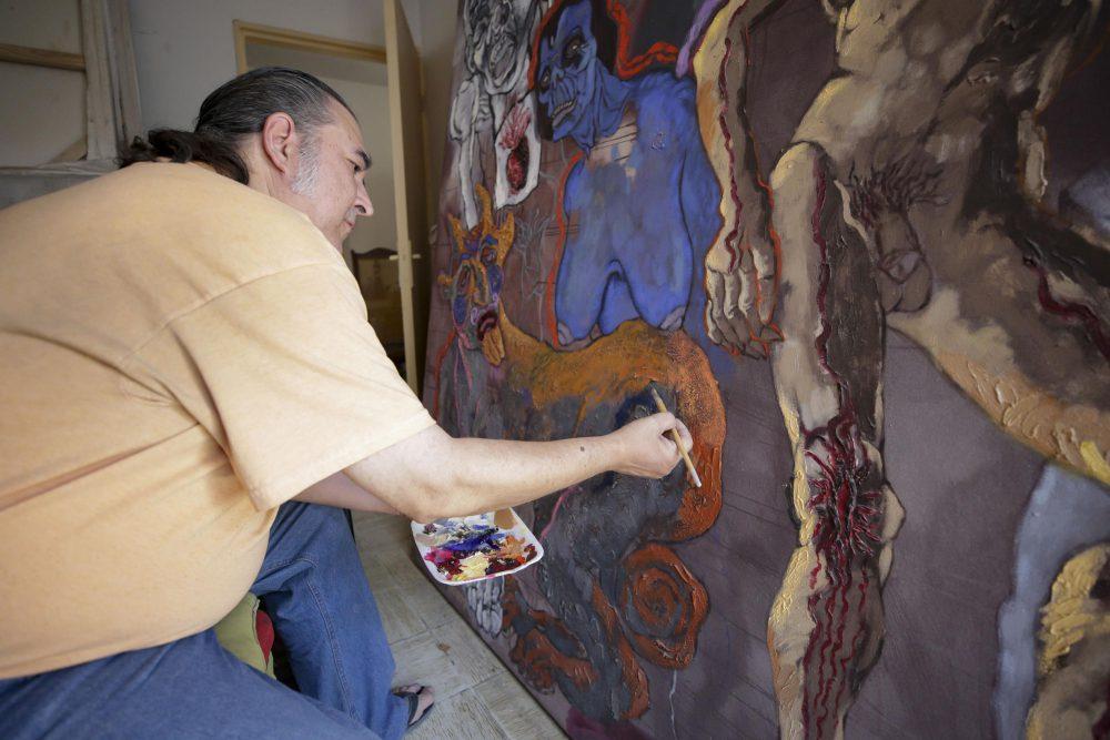 Enrique Navarro Torres, artista plástico y académico del CUAAD