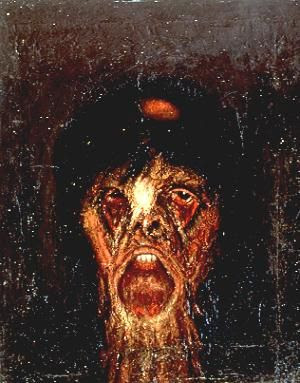 """La bruja"", Francisco Goitia"