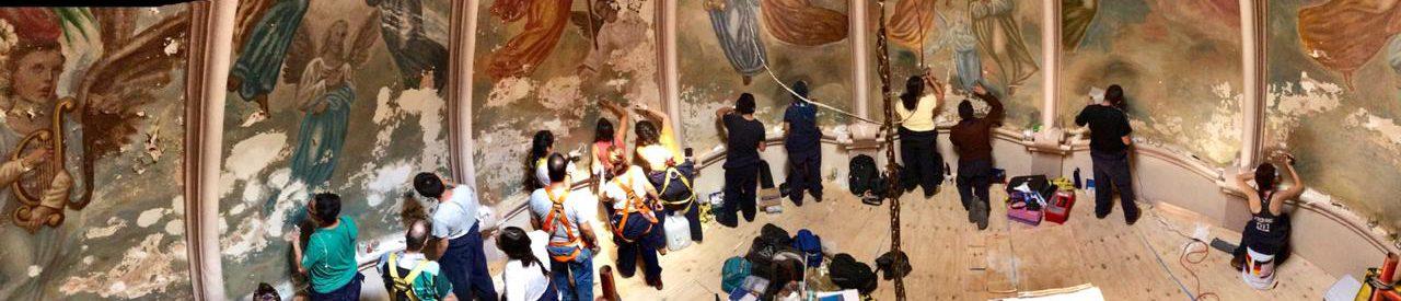 Restaura ECRO pintura mural en Jesús María, Jalisco