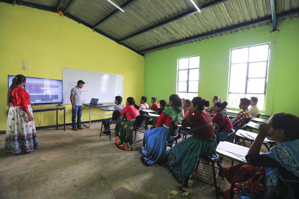 Escuela wixárika