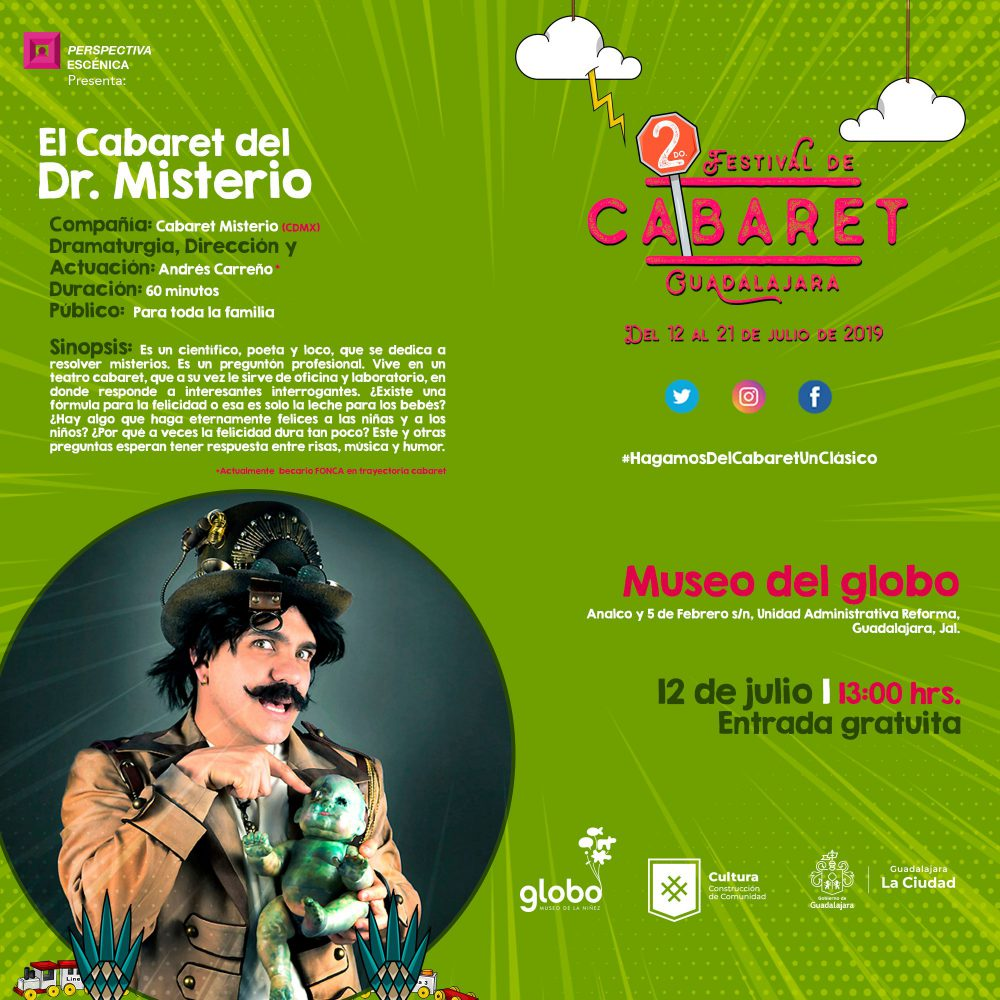 Segundo Festival de Cabaret Guadalajara