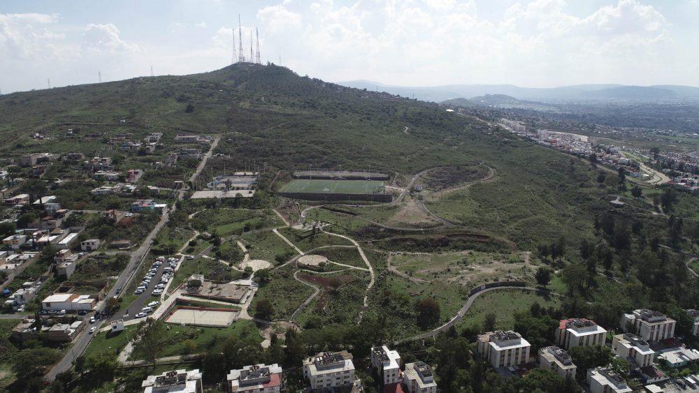 Parque Metropolitano en Cerro del Cuatro