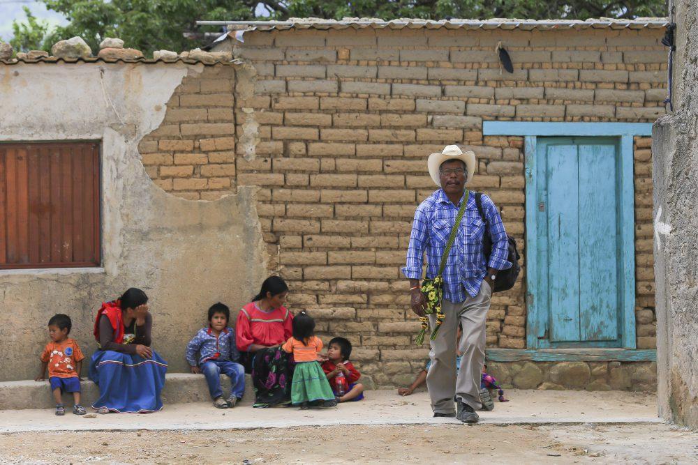 Comunidad wixárika en Ocota de la Sierra, Mezquitic