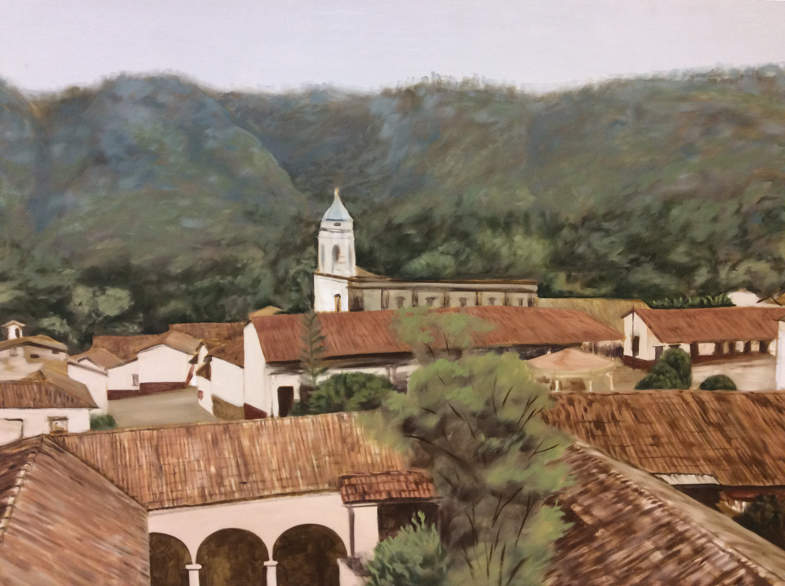 """San Sebastián de Oeste"", Marco Aníbal"