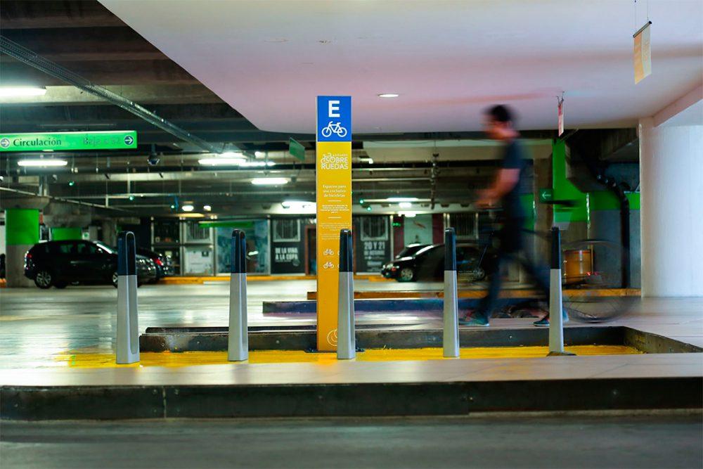 Ciclopuerto CP-009, BKT Mobiliario Urbano