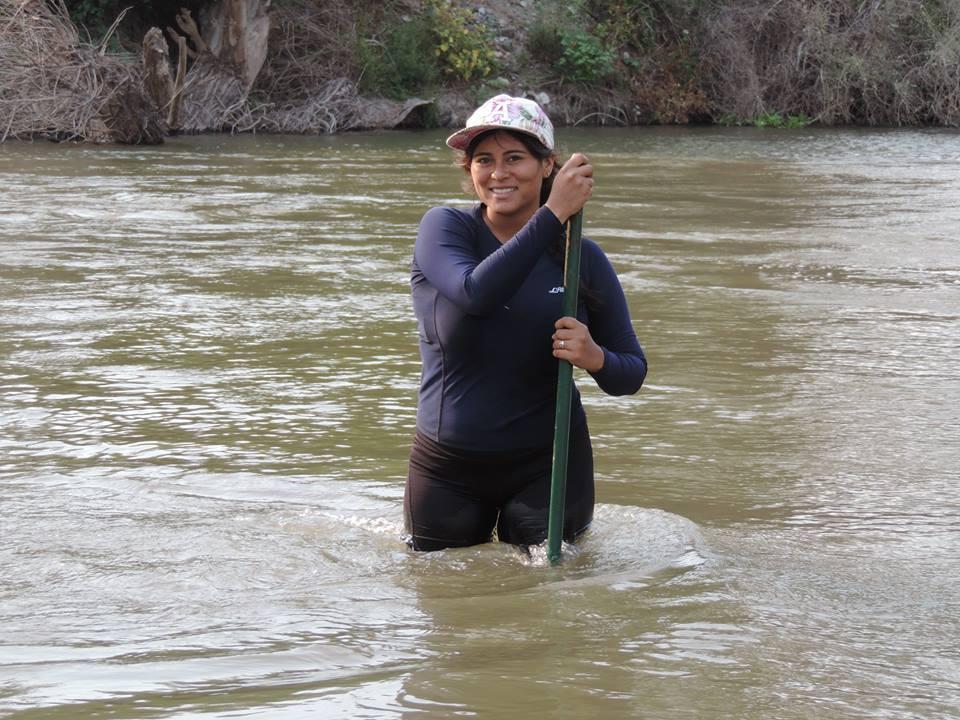 Carol Alexis Flores Real, investigacion nutrias en Sierra de Manantlán
