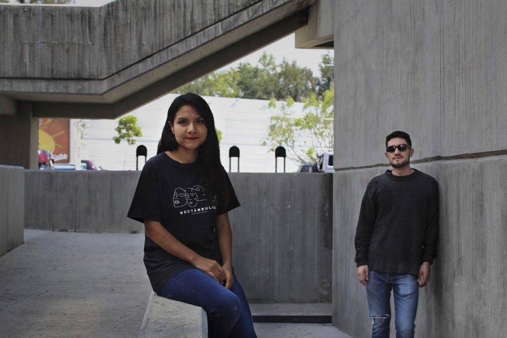 """Chantal Rodriguez y Arturo Baltazar, cineastas de """"Noctámbulos"""""""