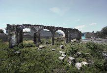 Ruinas de la capilla de hospital San Sebastián el Grande, Tlajomulco