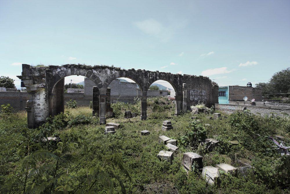 Ruinas de la capilla de hospital San Sebastian el Grande, Tlajomulco