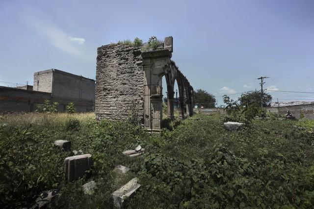 San Sebastián, ruinas de la capilla de hospital