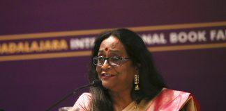 Shrimati Das, la Directora del Centro Cultural de la India