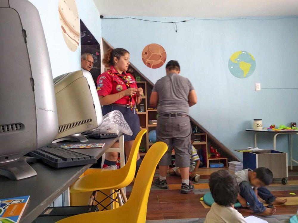 Diseñadores interviene albergue en San Juan de Dios