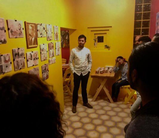 Exposición del artista autlense Silvestre K'anil