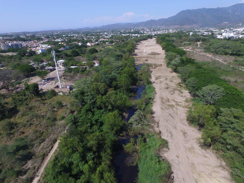 Deforestan ribera del Río Pitillal. Fotografía: Alfonso Baños