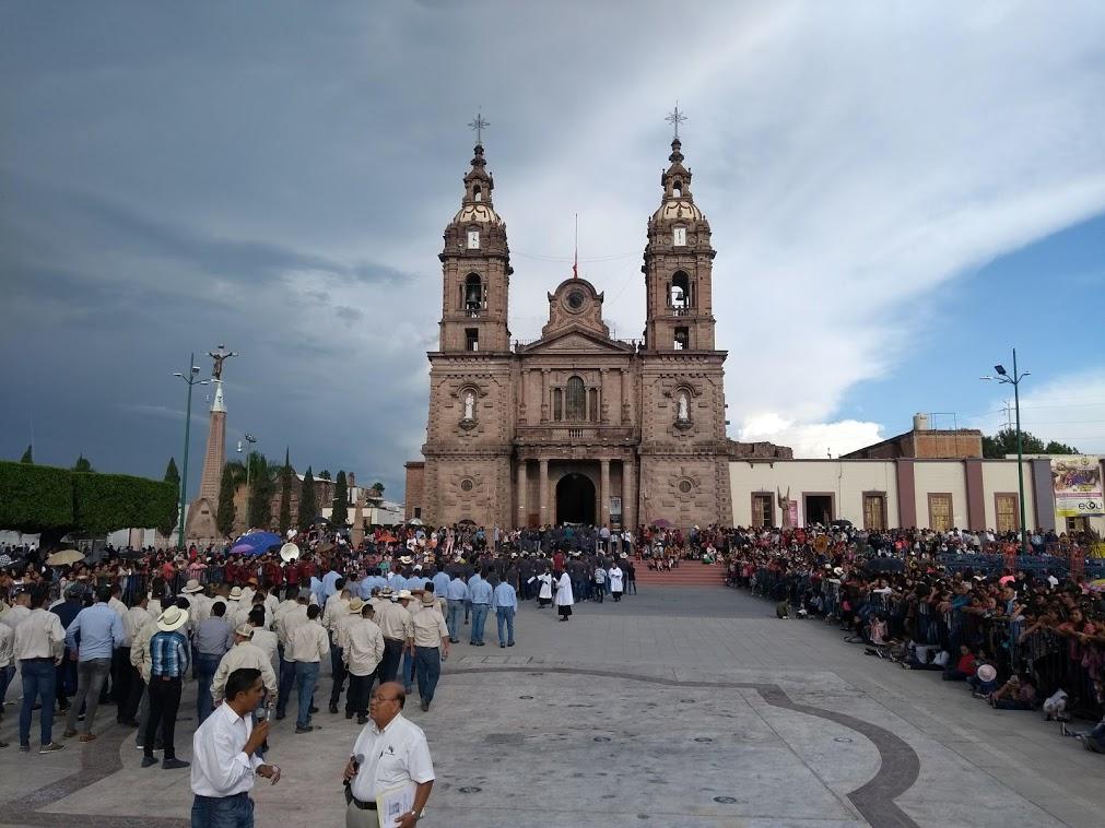 Entrada de los Gremios en Ocotlán