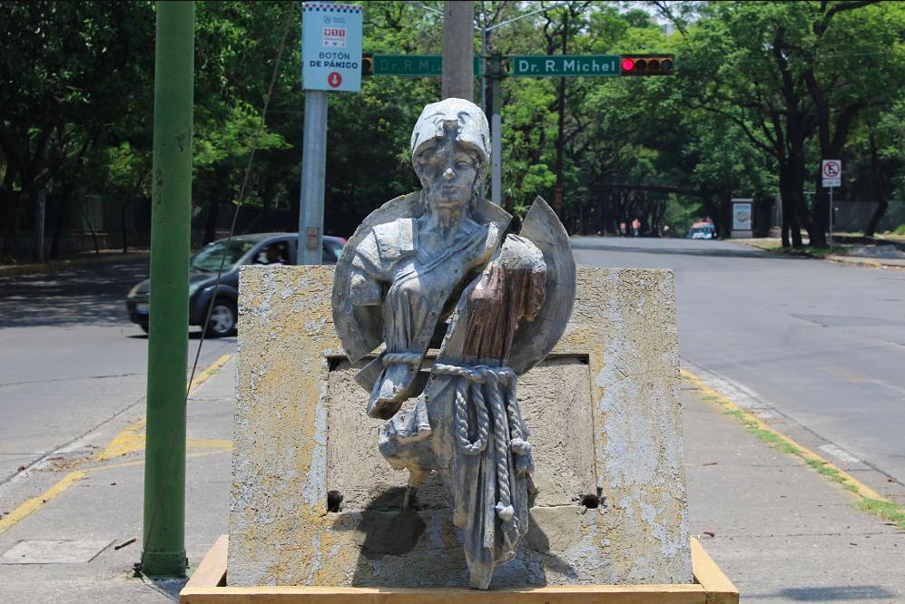 Las nuevas Minervas cuestionan la segregación social artística, que se vive al oriente de Guadalajara. Fotografía Iván Serrano Jauregui