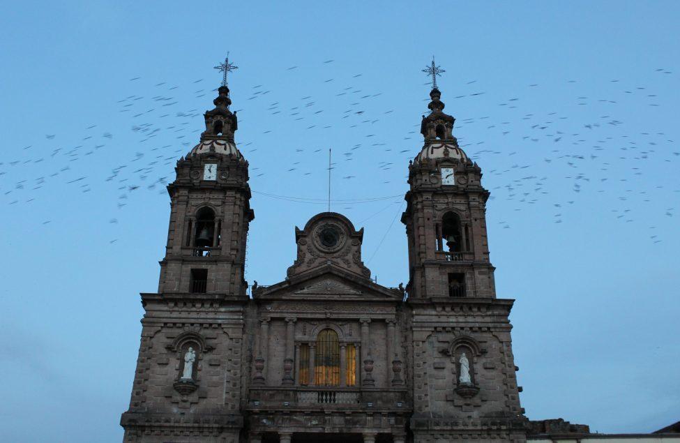 Parroquia de Ocotlán. Fotografía: Iván Serrano Jauregui