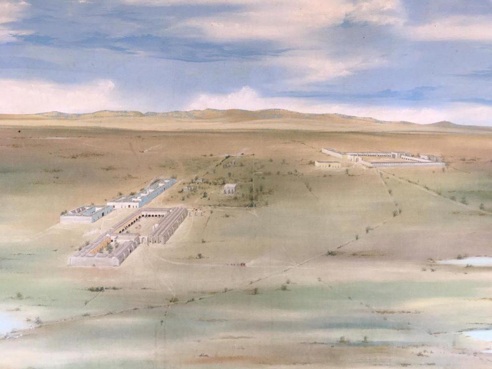 Pintura del Fuerte de Ojuelos