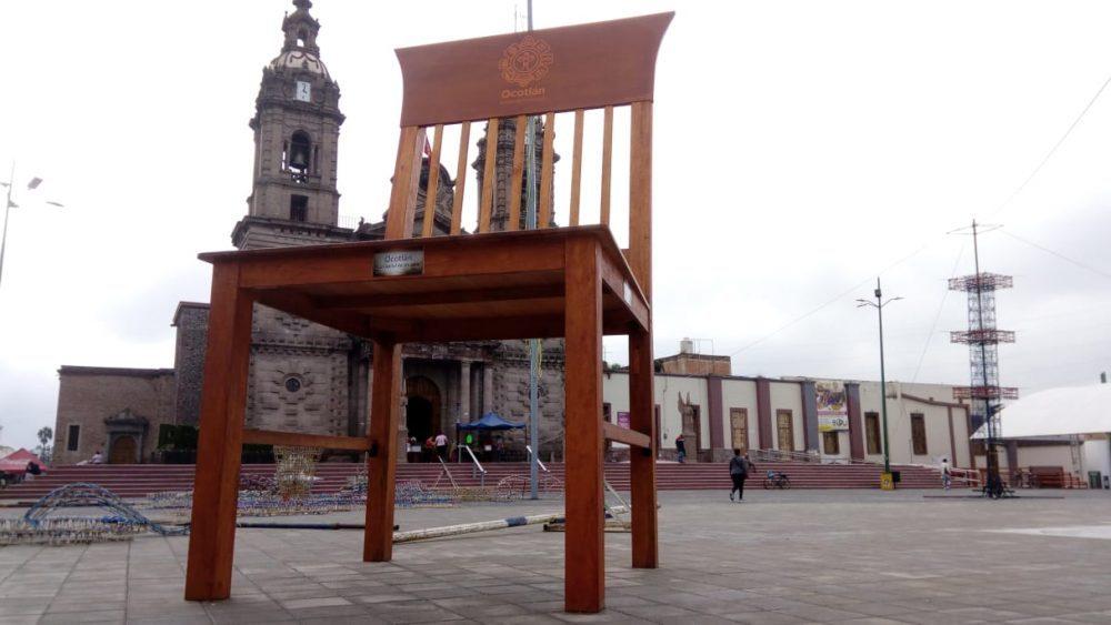 Silla Gigante de Ocotlán. Fotografía: Luis Ruano