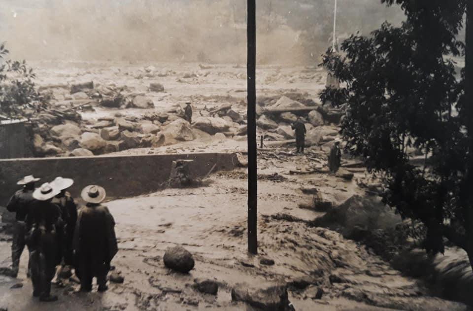 Inundación en Atenquique. Fotografía: Federico Villarreal Durán