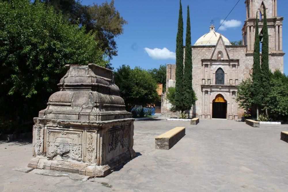 Templo de San Nicolás Tolentino, en Colotlán. Fotografía: Iván Serrano Jauregui