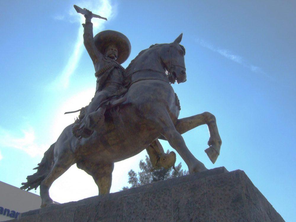 Monumento a Emiliano Zapata, en Zapopan