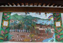 """Mural """"Puerto Vallarta"""", de Manuel Lepe"""