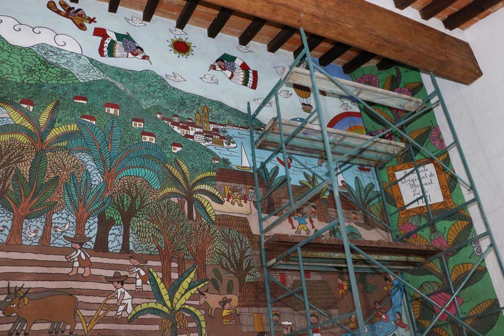 Restauración Mural Lepe