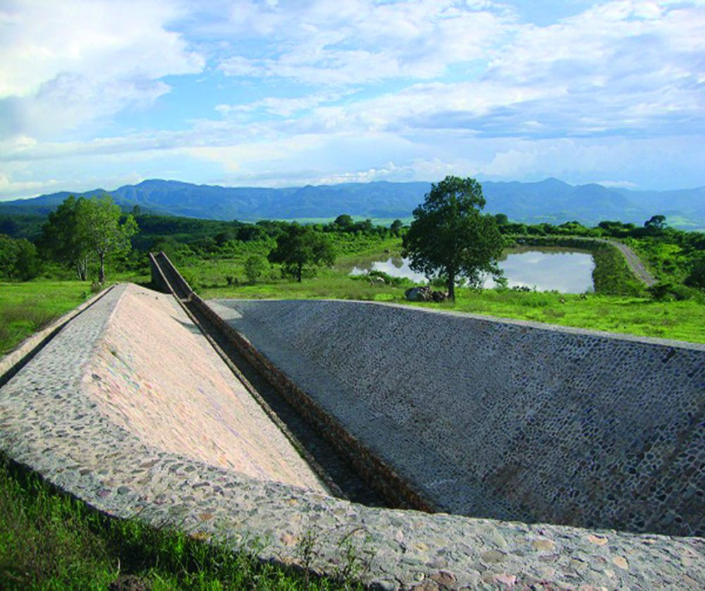 "Tercer punto. ""Santuario Estanzuela"", del chino Ai Wei Wei, en la Ruta del Peregrino"
