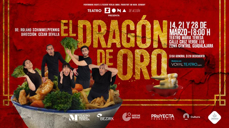 """""""El dragón de oro"""", dirección de César Sevilla"""